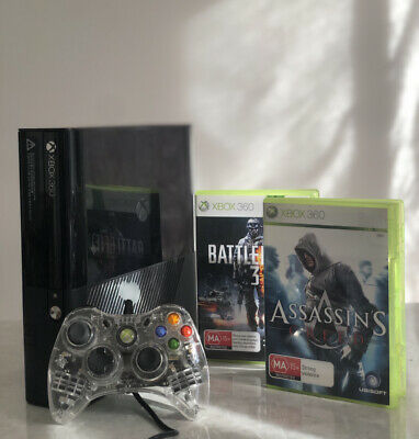 AU105 • Buy Microsoft Xbox 360 Slim Console With Free HALO 4 GAME