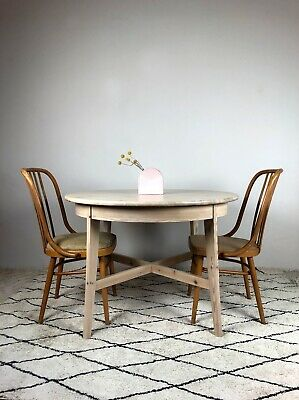 AU550 • Buy Mid Century Ligna BENTWOOD DINING CHAIRS + Vintage Ikea TABLE - RESTORED