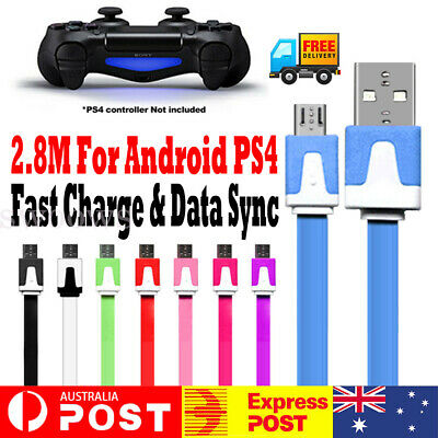 AU5.95 • Buy 2.8Meter USB Charger Charging Cable Cord For PS4 PS5 PLAYSTATION 4 5 Controller
