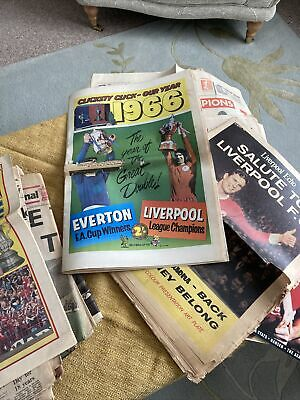 Liverpool Football Club Collectionof Newspaper Cuttings And Various Items 1960's • 4.99£