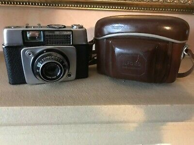 Vintage Ilford Sportsman Camera 35mm & Carrycase Very Good Condition • 7£