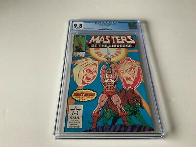 $450.49 • Buy Masters Of The Universe 1 Cgc 9.8 White Pages Marvel Comics 1986 Gg