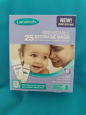 Lansinoh Breastmilk Storage Bags 17 Out Of 25 • 2£
