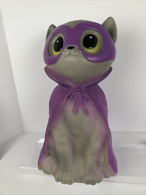 $ CDN62.49 • Buy Halloween Blow Mold Vampire Cat 17  Light Up LED Holiday Home Very Cute