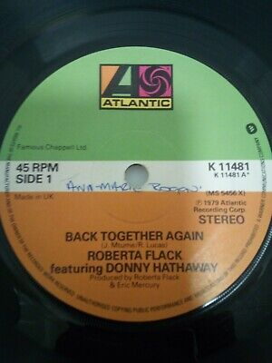 Roberta Flack And Donny Hathaway - Back Together Again/Only Heaven Can Wait  • 0.99£