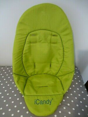 ICandy Peach 1  Sweet Pea  Lime Green Blossom LOWER Seat Liner With Hook & Loop • 17.95£