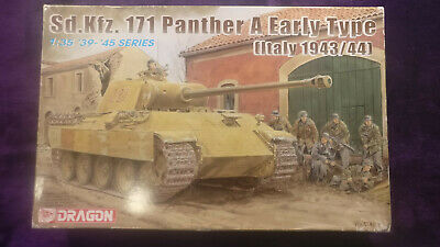 Dragon6160 1:35 Panther A Early Type [Italy1943/44] Model Kit *SEALED IN BAGS* • 37.90£