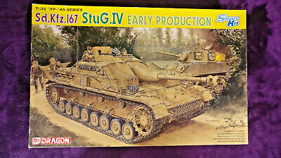 Dragon 6520 1:35 Sd.Kfz.167 StuG.IV Early Production Model Kit *SEALED IN BAGS* • 64.90£