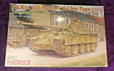 Dragon6244 1:35 Panther A Late Type Normandy 1944 Model Kit = #6168 SEALED BAGS • 54.90£