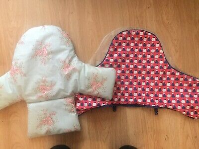 Baby High Chair Insert Cushion Pad Bundle Of 2 Messy Me And Ikea • 10£