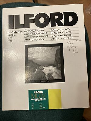 Ilford Multigrade Classic Matt 8x10  Black & White Paper Between 80 To 100 Sheet • 38£