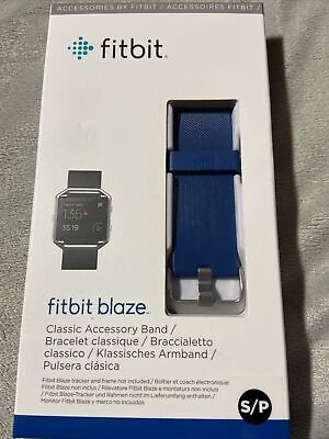 $ CDN12.60 • Buy Fitbit Blaze Accessory Band, Classic, Blue, Small, Brand New And Sealed