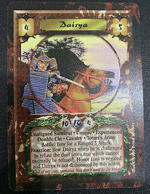 L5R CCG Dairya Experienced Forbidden Knowledge AEG Legend Of The Five Rings • 5.66£