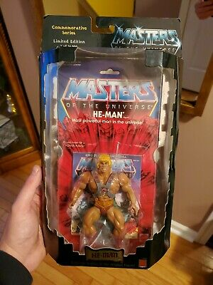 $60 • Buy MOTU Commemorative HE-MAN Masters Of The Universe Sealed 1/15,000