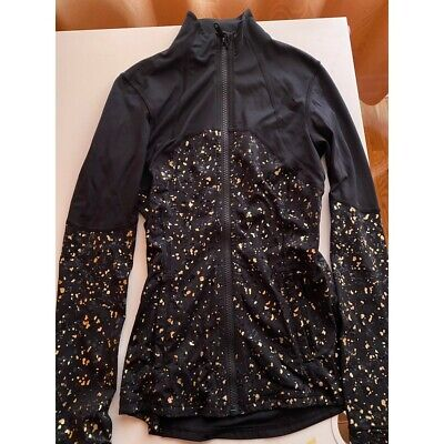$ CDN70 • Buy Lululemon Limited Edition, Black & Gold Define Jacket, Size 2, Worn Only Once