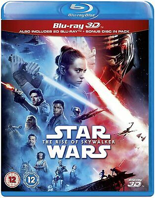 AU43.94 • Buy STAR WARS: THE RISE OF SKYWALKER (2019) Region Free [3D + 2D Blu-ray]
