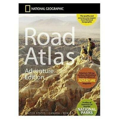 National Geographic Maps RD00620166 Road Atlas - Adventure Edition- USA • 28.49£
