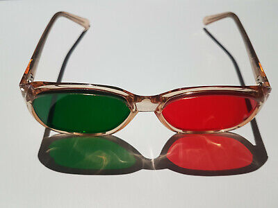 Opticians Eye Test Chart Examination Glasses Red And Green Field Lenses  • 39.99£
