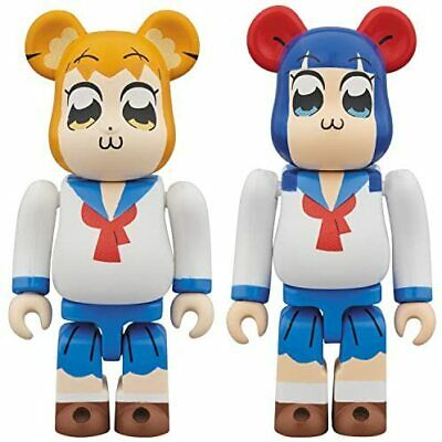 $71.76 • Buy Bearbrick Pop Team Epic 2 Pack Each Height Approximately 70mm Painted F No.1717