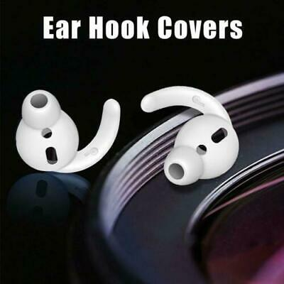 AU6.92 • Buy Noise Isolation Silicone Ear Hooks Covers Anti-Slip For Apple AirPods 3 Pairs
