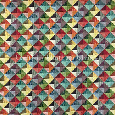 £2 • Buy New World Tapestry Luxury Weight Cotton Rich Fabric 1.4m Wide Little Holland