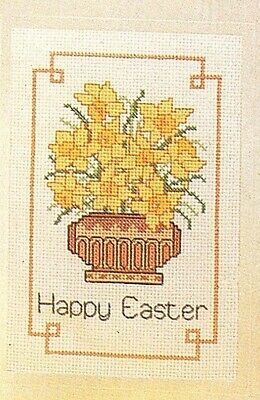 £3.99 • Buy Cross Stitch Patterns For 2 Easter Cards. Embroidery, Flowers. Needlecraft. DMC.