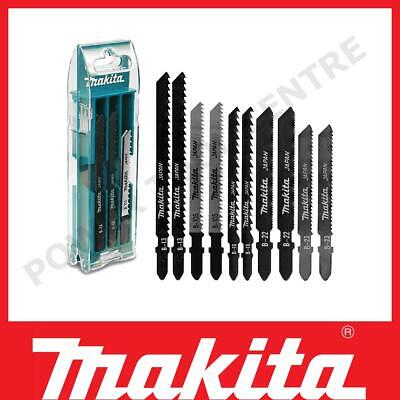 £17.49 • Buy Makita B-44410 10 Piece Set Of Jigsaw Blades 50-70mm Pack A For Wood & Metal