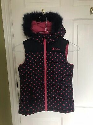 Purple Peter Storm Padded Hooded Gilet Age 9-10 Years Old. • 1.20£
