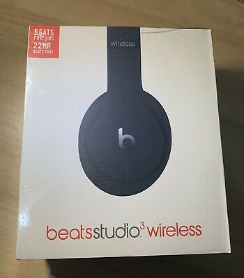 Dr Dre Beats Studio3 Wireless Headphones (REPLICAS) BLACK • 12.50£