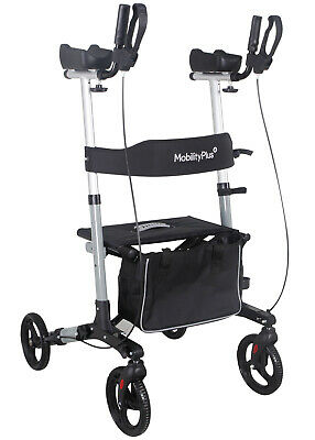 £154.99 • Buy NEW MobilityPlus+ Upright Rollator Mobility Walker Lightweight With Arm Support