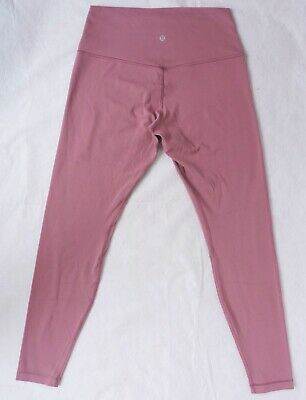 $ CDN62.02 • Buy Lululemon Align Crop *27 Inseam Spanish Rose Sz 10 High Rise Leggings Pants