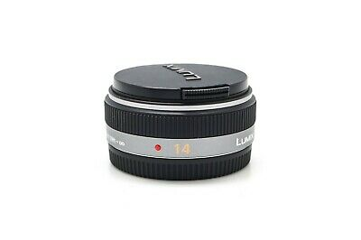£106.80 • Buy Panasonic LUMIX G AF 14mm F2.5 ASPH Lens For Micro 4/3 Mount Camera Body