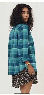 AU179 • Buy Spell And The Gypsy Designs Sundown Maverick Flannel Shirt Size Small Brand New