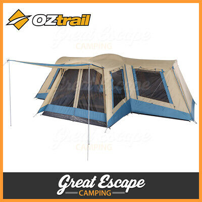 AU495 • Buy OZtrail Family 12 Dome Tent  -12 Person Dome Camping Tent Outdoor Shelter