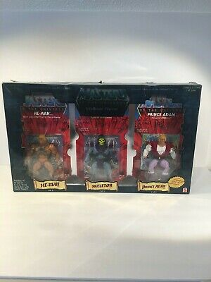 $324 • Buy Masters Of The Universe 5 Pack Commemorative Series I  HE-MAN Set 1/8000 NIB