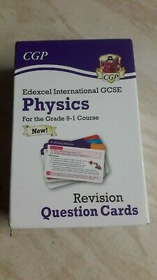 GCSE Physics Revision Question Cards, Edexcel IGCSE, As New. By CGP. • 3.50£