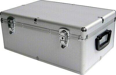 AU26.95 • Buy Aluminium CD DVD DJ Storage Box Case Holds 80, 120, 200, 600, 1000 Discs B