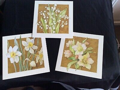 Margaret Tarrant Easter Spring Flower Cards (3) • 7.99£