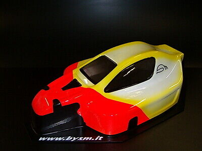 SM200 1/8 Scale RC Car Body Shell Buggy For Mugen MBX5 1.5mm • 21.45£