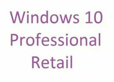 $ CDN76.11 • Buy Full Windows (Win) Ver. 10 Professional (Pro) 32/64 Bit New Retail
