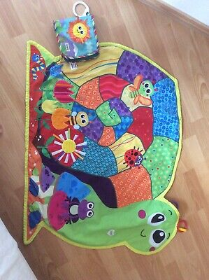 Tomy Lamaze Playmat And Crinkle Cloth Book • 0.99£