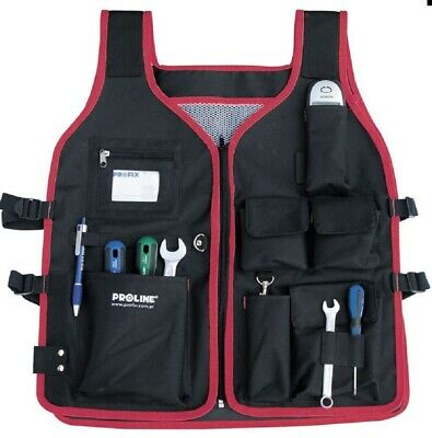 Tool Vest Work Vest Men's Work Clothes For Tool One Size • 35.46£