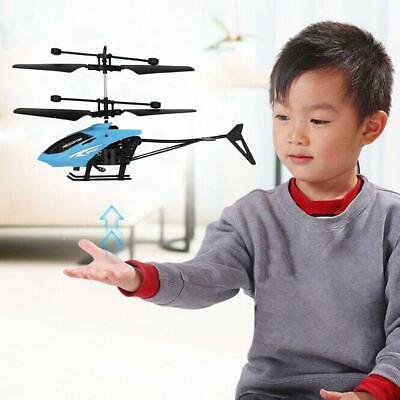 Mini RC Infraed Induction Helicopter Aircraft Flashing Charge Light Gift I8Q3 • 3.88£