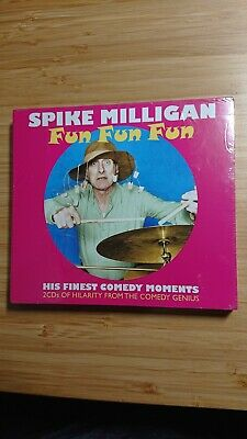 SPIKE MILLIGAN - Fun Fun Fun 2 X CD Album 'His Finest Comedy Moments' Sealed New • 4.50£