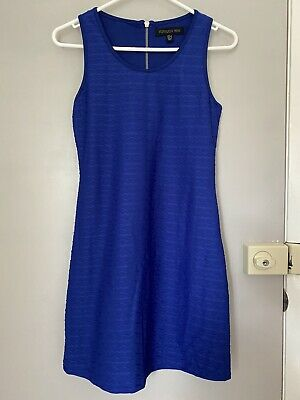 AU15 • Buy Blue Dress Forever New Size 8