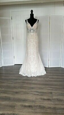 AU710.41 • Buy  Wedding Dress Size 12 Color Ivory/ch Designer Stella York