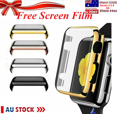 AU7.91 • Buy Apple Full Cover Case Watch Series 38mm 42 40 44mm SE Built In Screen Protector