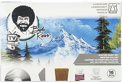 Bob Ross BR16510 Master Paint Set 16 Piece Art Craft Brushes Paint As Seen On TV • 59.33£