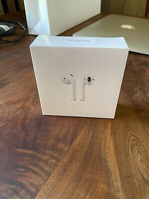 AU185 • Buy Apple AirPods 2nd Generation With Charging Case - Brand New - SEALED