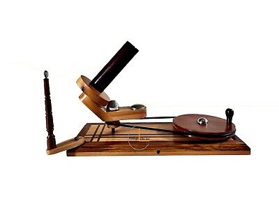 Handmade Premium Crafted YARN WINDER For Knitting & Crocheting - Sheesham Wood • 52.99£